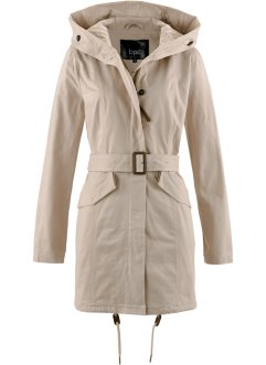 Parka, bpc bonprix collection, nude
