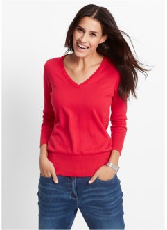 Trui, bpc bonprix collection, rood
