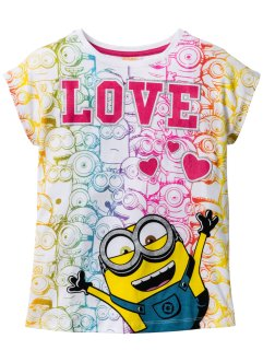Shirt «Minions», Despicable Me_TV-Mania, wit met print