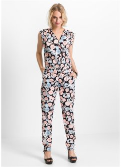 Jumpsuit, RAINBOW, zwart gedessineerd