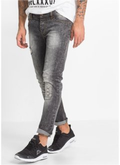 Stretchjeans SKINNY, RAINBOW, black moon