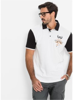 Poloshirt, bpc selection, wit