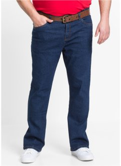 Stretchjeans classic fit bootcut, John Baner JEANSWEAR, donkerblauw