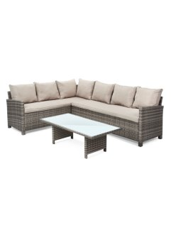 Loungemeubels «Paguera» (2-dlg. set), bpc living, naturel