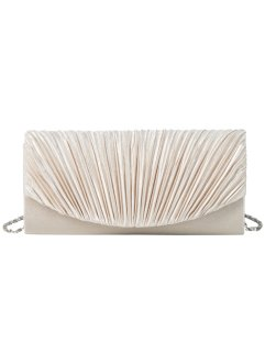 Clutch, bpc bonprix collection, crème