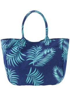 Tas, bpc bonprix collection, middernachtblauw/oceaangroen