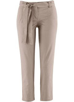 7/8-stretchbroek, bpc bonprix collection, taupe