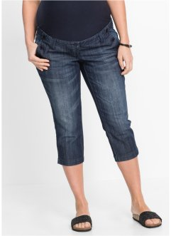 3/4-zwangerschapsjeans, bpc bonprix collection, darkblue stone
