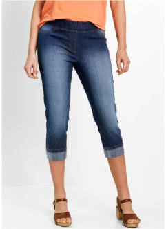 3/4-jegging, bpc bonprix collection, dark denim