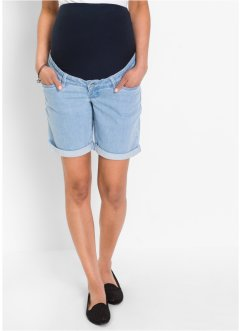 Zwangerschapsshort, bpc bonprix collection, blue bleached