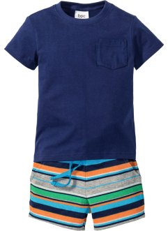 T-shirt+sweatshort (2-dlg. set), bpc bonprix collection