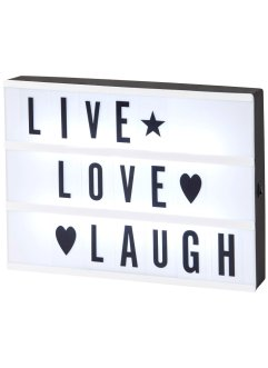 Led-lightbox, bpc living
