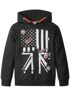 Hoodie met patches, bpc bonprix collection