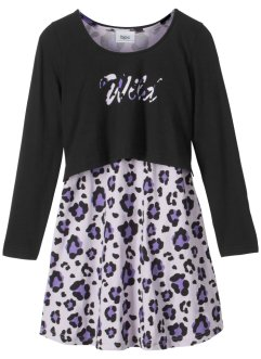 Jurk+shirt (2-dlg. set), bpc bonprix collection