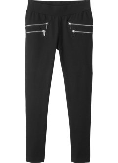 Stretch broek met ritsjes opzij, bpc bonprix collection