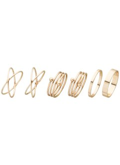 Ring (6-dlg. set), bpc bonprix collection