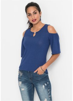 Cold-shoulder shirt, BODYFLIRT