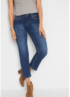 7/8 stretch jeans straight, John Baner JEANSWEAR