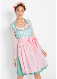 Dirndl met satijnen schort, bpc bonprix collection