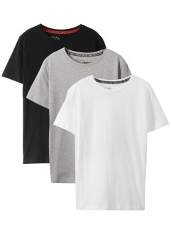 Basic T-shirt (set van 3), bpc bonprix collection