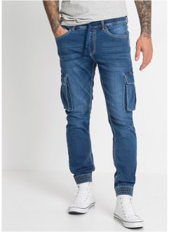 Slim fit cargo instapjeans, straight, RAINBOW