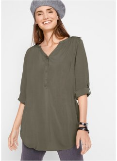Blouse met V-hals, bpc bonprix collection