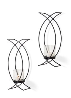Kaarshouder «Ken» (set van 2), bpc living bonprix collection