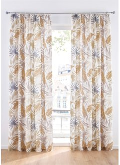 Gordijn met palmboombladeren (1 stuk), bpc living bonprix collection
