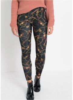 Legging met kettingprint, RAINBOW