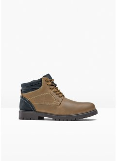 Leren veterboots, bpc bonprix collection