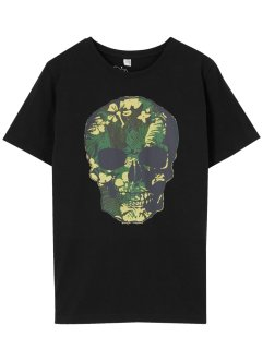 T-shirt met doodskop, bpc bonprix collection