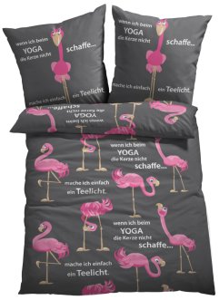 Dekbedovertrek met flamingo, bpc living bonprix collection