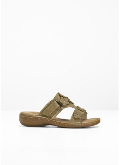 Leren slippers, bpc bonprix collection