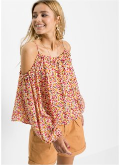 Cold shoulder blouse, RAINBOW