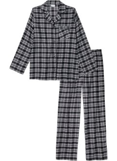 Geweven pyjama van flanel (2-dlg. set), bpc bonprix collection