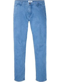 Chino stretch jeans met biologisch katoen, regular fit, John Baner JEANSWEAR