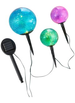 Solar tuinsteker bollen (set van 3), bpc living bonprix collection
