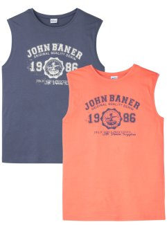 Muscle shirt (set van 2), John Baner JEANSWEAR