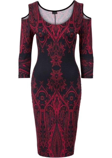 Rood Met Zwart Jurkje.Jurk Rood Zwart Bodyflirt Boutique Bestel Online Bonprix Fl Be