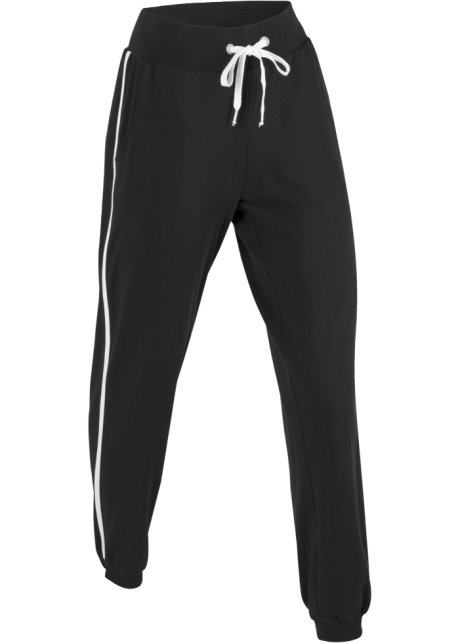 Strakke Joggingbroek Dames.Joggingbroek Zwart Dames Bpc Bonprix Collection Bonprix Fl Be