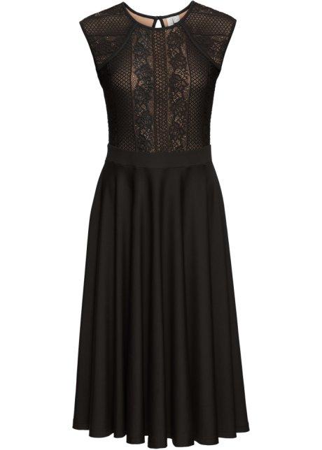 39d412df079b22 Jurk zwart - BODYFLIRT boutique koop online - bonprix-fl.be