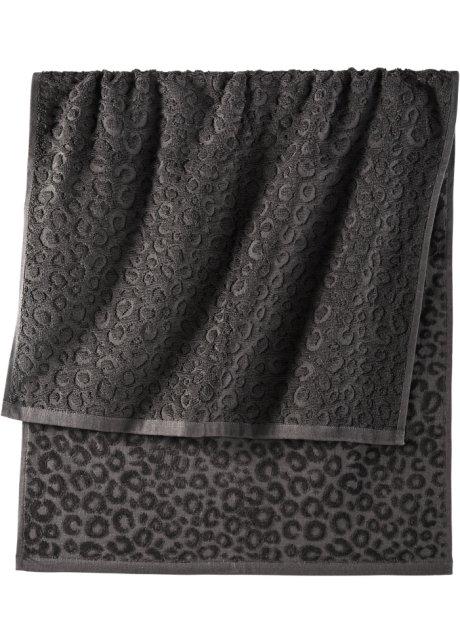 8c006e312b8 Handdoek «Simba» zwart - bpc living - bonprix-fl.be