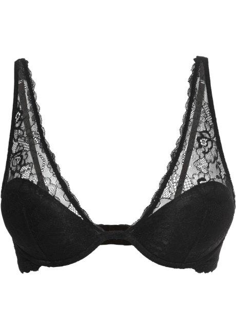 1cb2209ee8b13 Bralette zwart - Dames - bonprix-fl.be