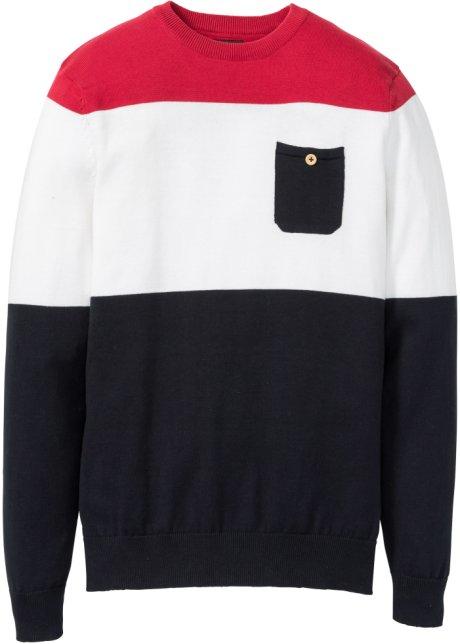 Zwart Rood Gestreepte Trui.Trui Zwart Wit Rood Gestreept Bpc Bonprix Collection Koop Online