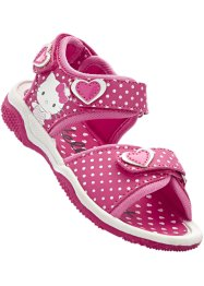 Sandalen «Helly Kitty», Hello Kitty, wit/pink