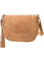 Leren shopper, bpc bonprix collection, bruin