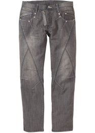 Jeans regular fit straight, RAINBOW, medium grey denim used