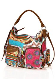 Handtas, bpc bonprix collection, bruin multicolor