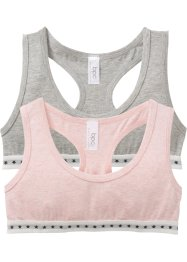 Bralette (set van 2), bpc bonprix collection