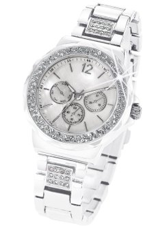 Horloge «Tiara», bpc bonprix collection, wit